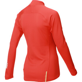 inov-8 Technical Mid T-shirt manches longues avec demi-zip Femme, red